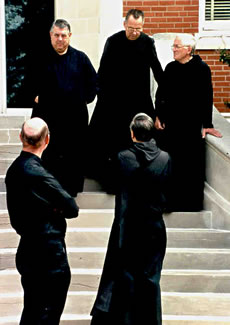 Monks of St Gregory's Abbey, Shawnee, OK